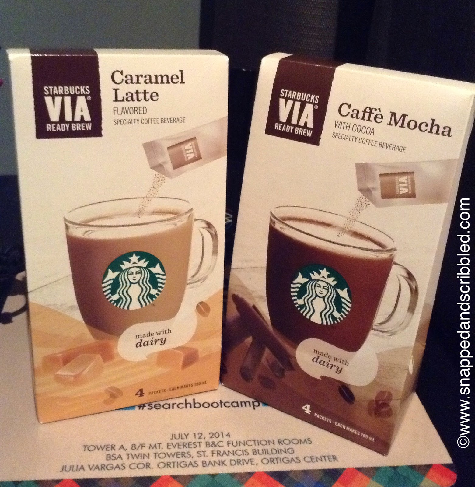 What To Try: Starbucks VIA Specialty Coffee Beverage