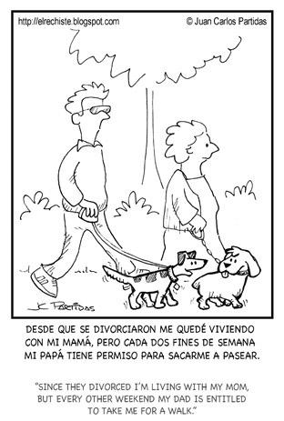caricatura divorcio mascotas