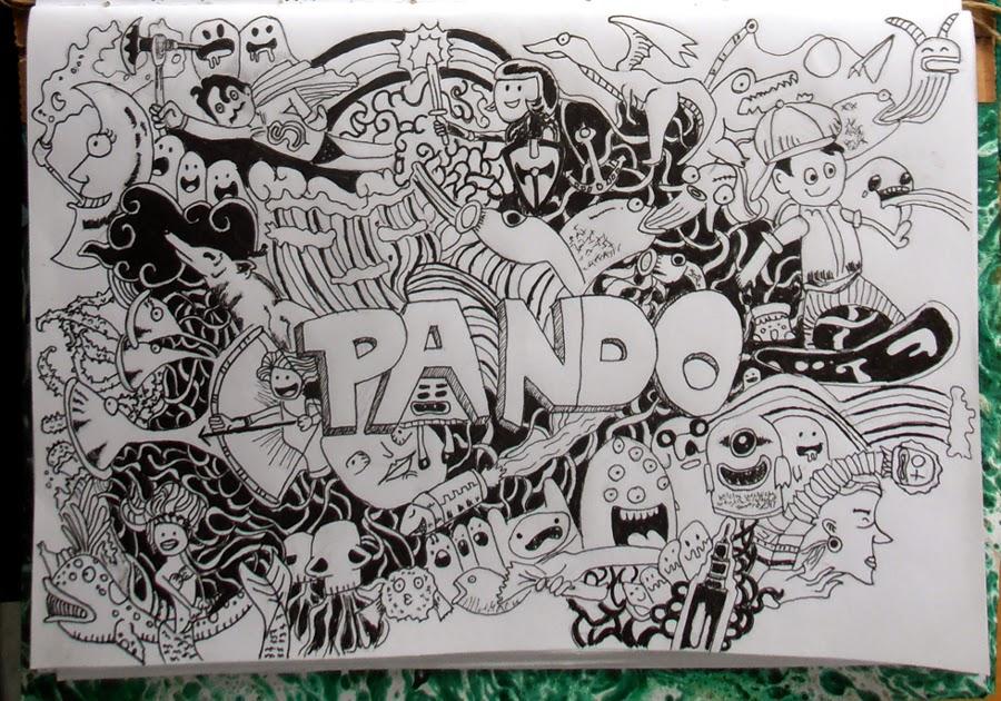 Pandozine mural dibujo expandido for Como dibujar un mural en la pared