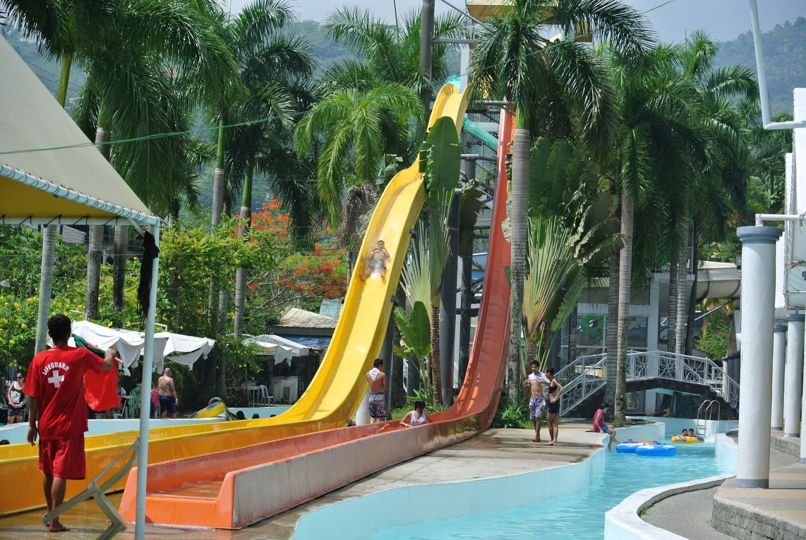 tanáw: splash mountain resort