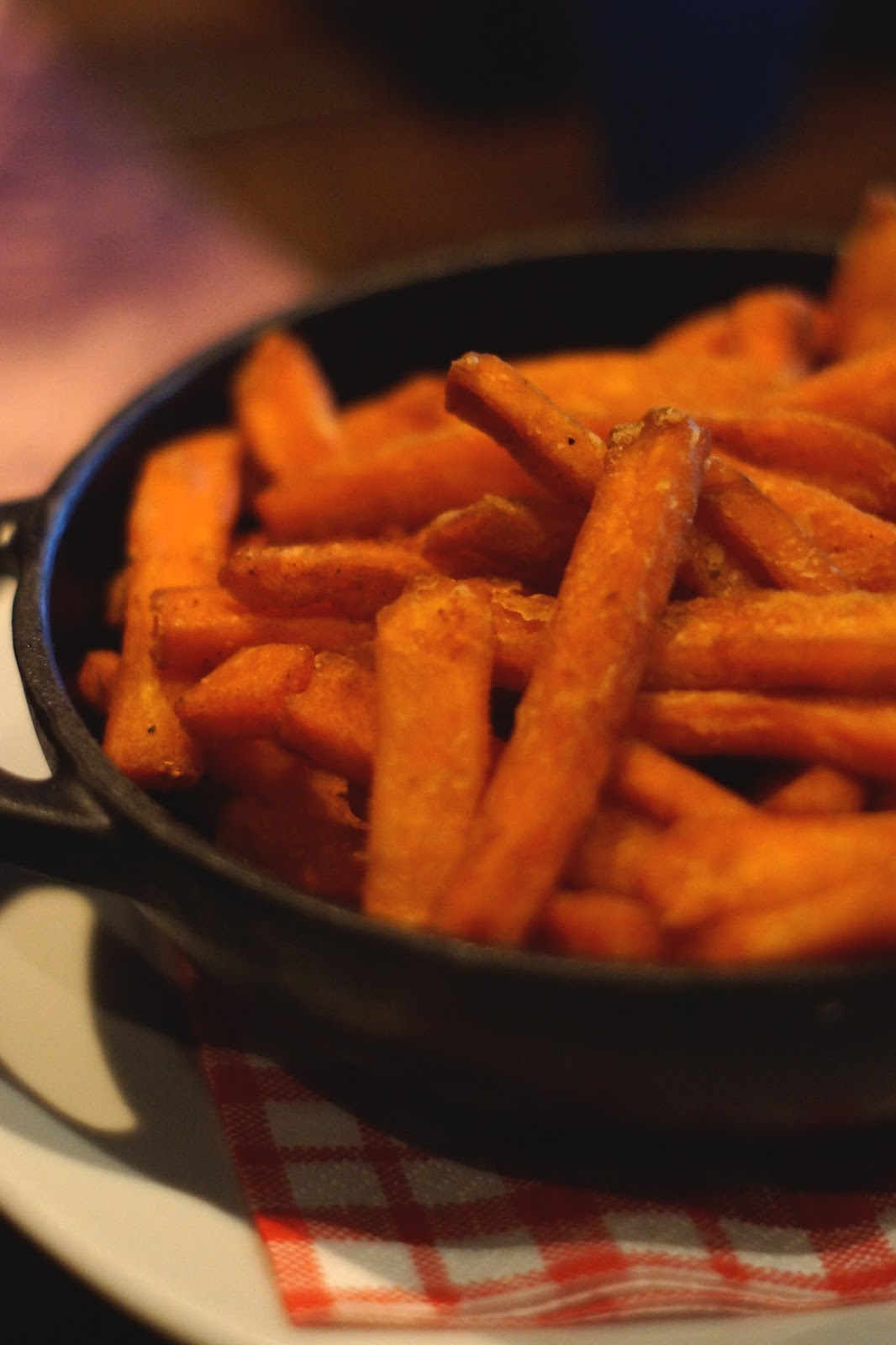 Hello Freckles River Bar Washington Sweet Potato Fries