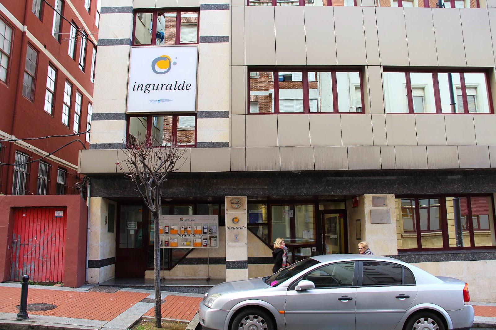Sede central de Inguralde, en la calle Aldapa