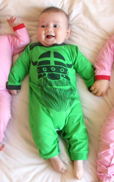 hvis babys pande vokser
