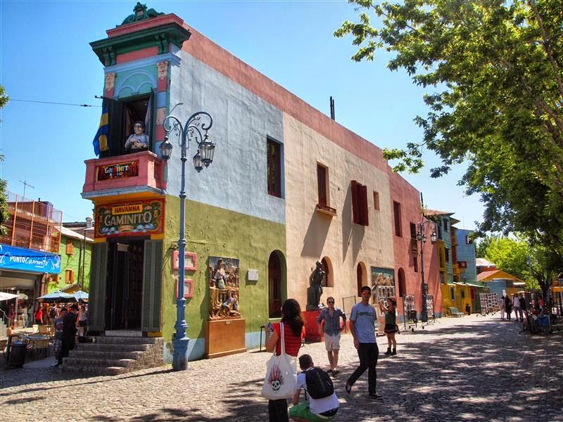 Caminito - La Boca - Buenos Aires