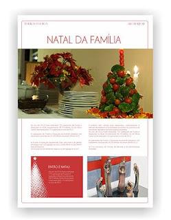 Jornal personalizado de Natal