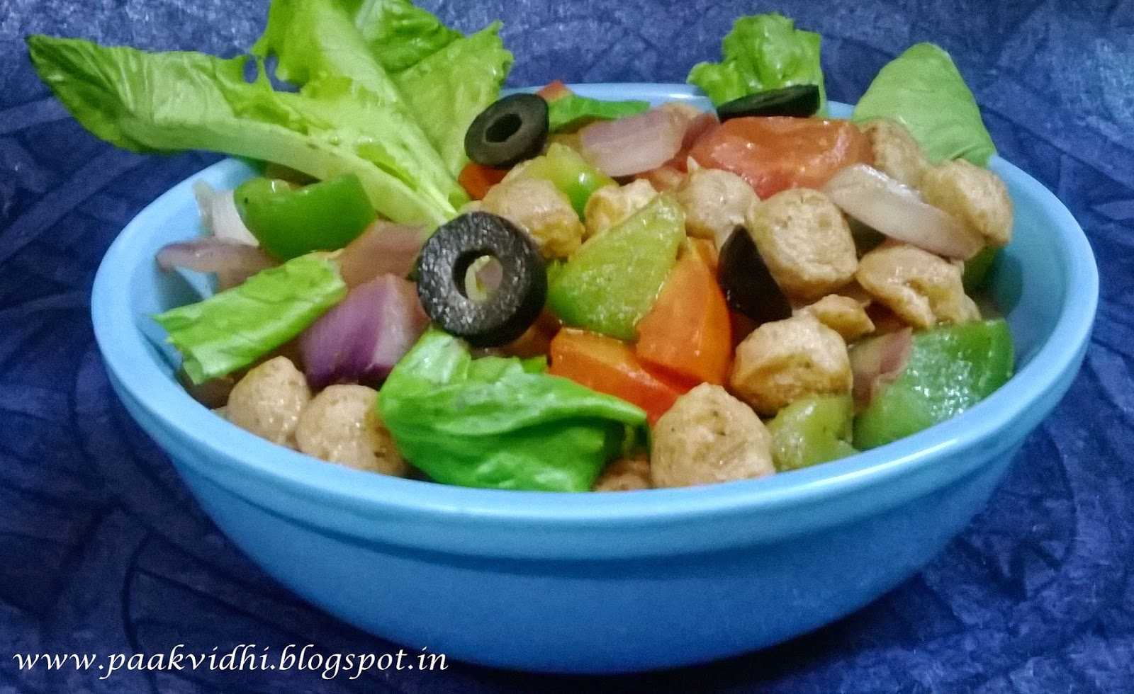 http://paakvidhi.blogspot.in/2014/04/soya-nugget-stir-fried-salad.html