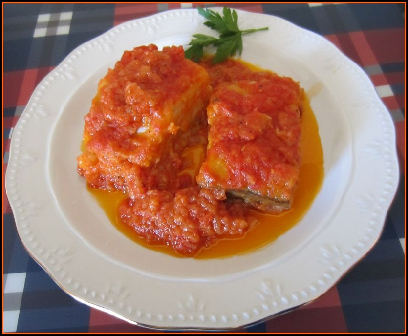 Las recetas del abuelo bacalao con tomate - Bacalao fresco con tomate ...