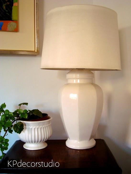 KP Tienda Vintage Online: Lámpara de sobremesa en cerámica esmaltada ...