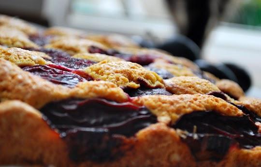 Ciasto śliwkowe z zarodkami pszennymi