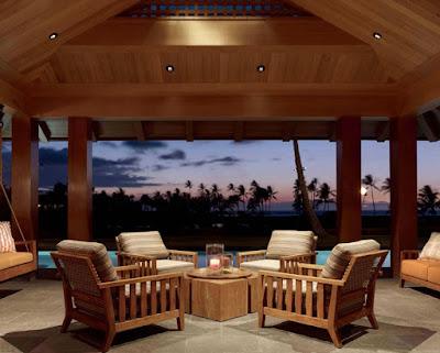 Tropical Classic Hawaiian Cloister House 12