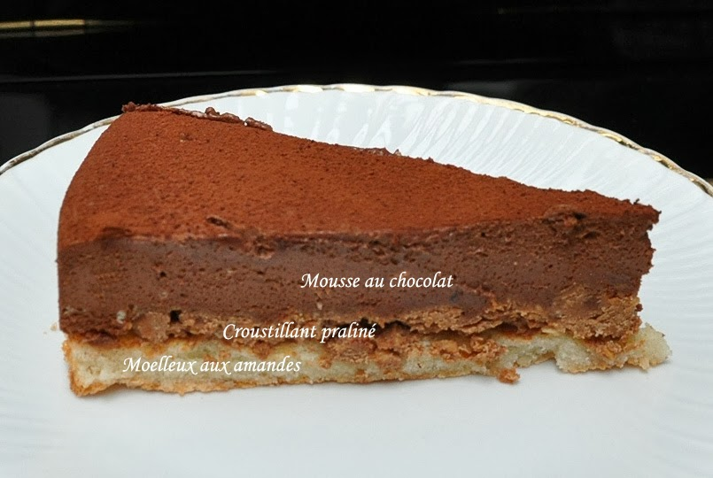 sucrissime le royal trianon au chocolat