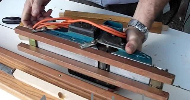 Gu a cepilladora casera para cepillo el ctrico de madera - Cepillo madera electrico ...