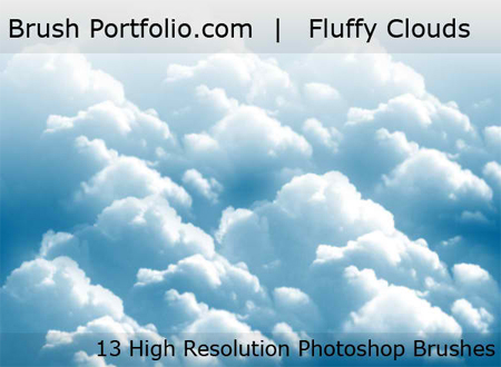 Free Photoshop Brushes: 20 Realistic Looking Clouds