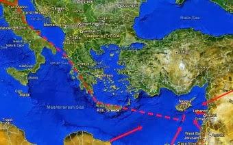 ΔΕΠΑ: Μελέτη Σκοπιμότητας για τον αγωγό φυσικού αερίου από Ανατ. Μεσόγειο σε Ευρώπη.
