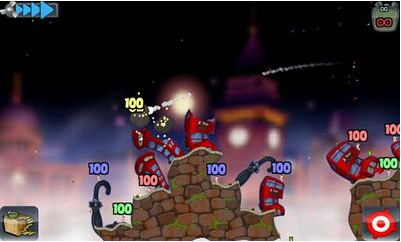 game worms apk, game android, perang cacing, game wwp