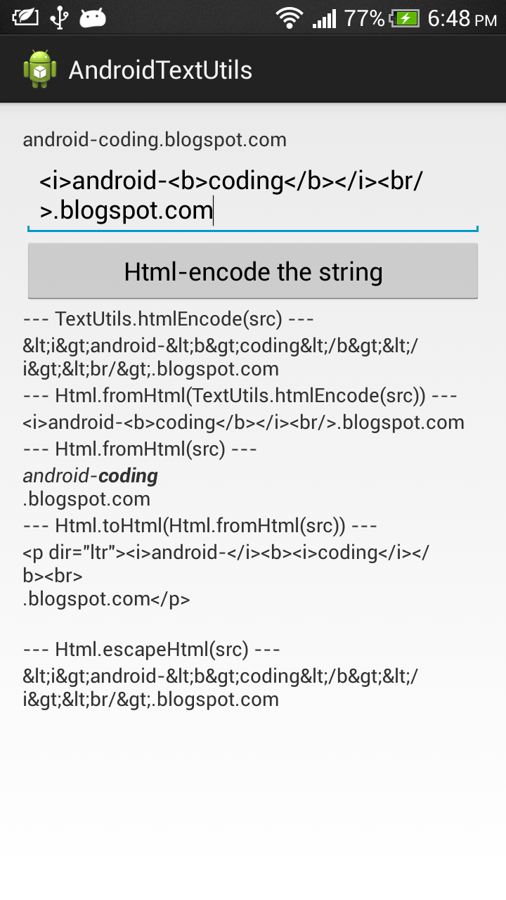 HTML encode/decode