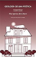 """NUEVO LIBRO POESIA """"GEOLOGIA DE UNA POETICA"""" de Pilar Iglesias de la Torre"""