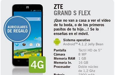 zte grand s flex gratis yoigo