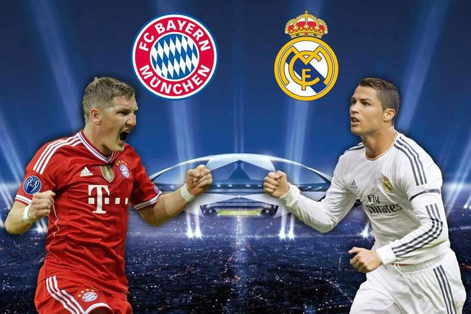 مشاهدة مباراة ريال مدريد وبايرن ميونيخ بث مباشر 23-4-2014 دوري أبطال أوروبا