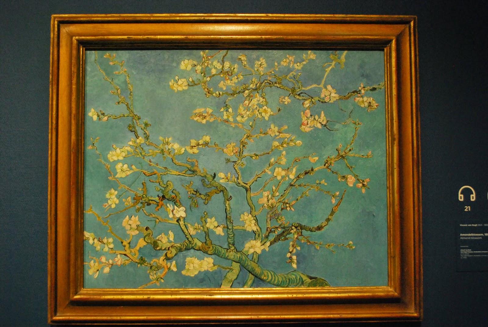 Van Gogh Amandier en fleurs 1890