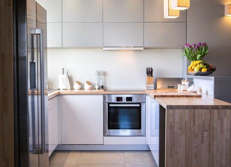 15 lindas fotos de cocinas peque as colores en casa - Cocinas en forma de u pequenas ...