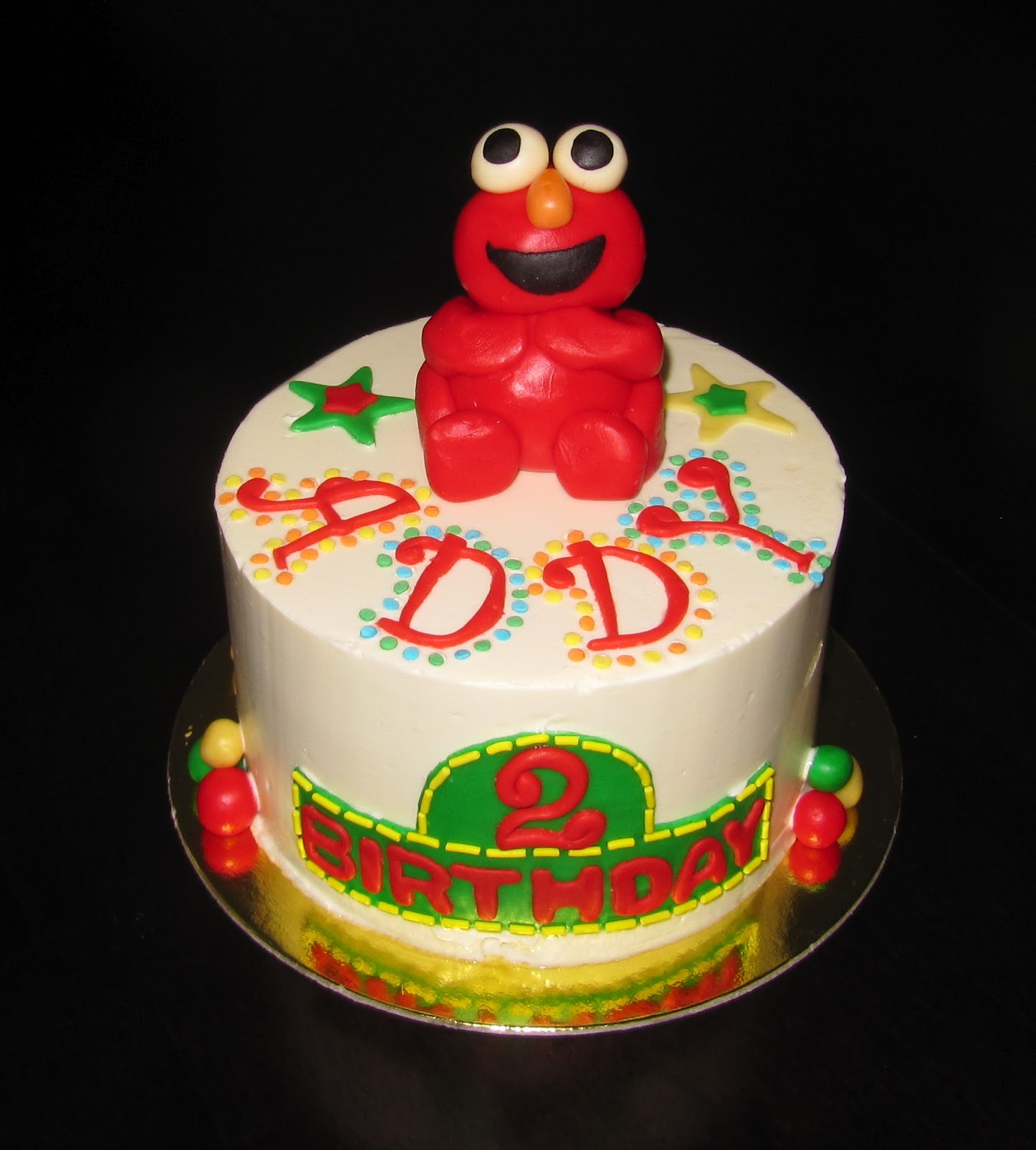 Decorations In A Way So They Could Be Easily Taken Off Since My Niece Is Turning 2 And Wont Baby Much Longer I Made Elmo Cake Topper