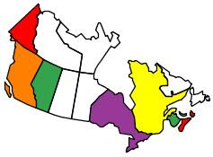 Canadian Provinces we have visited
