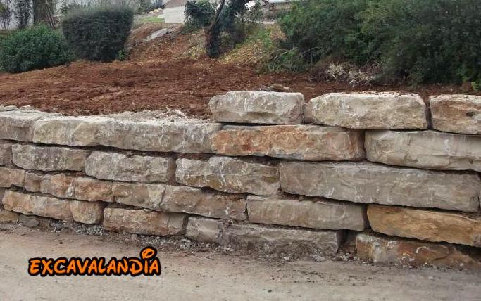 Excavalandia muros de rocalla escolleras - Muros de rocalla ...