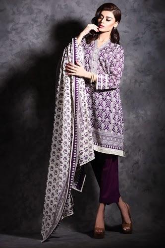Khaadi Cambric Autumn 2014-15 Vol-2