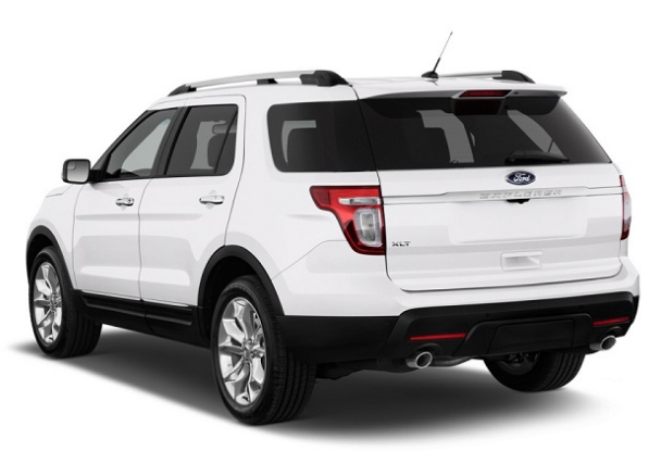 2016 Ford Explorer  Rear View