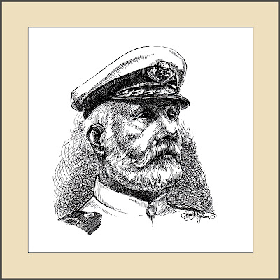 Edward John Smith portrait, Titanic captain