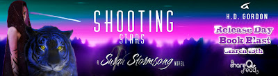 Book Blast: Shooting Stars by H.D Gordon
