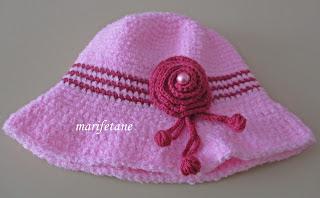 Anlatimli  Tiğ Örgü Şapka