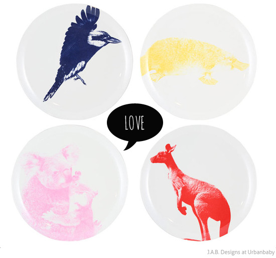 You know Iu0027m a sucker for good Australiana and I love these melamine plates featuring Australian animals by JAB Designs. Head to UrbanBaby where they are ...  sc 1 st  Bondville & Bondville: JAB Designs Australian animal melamine plates at ...