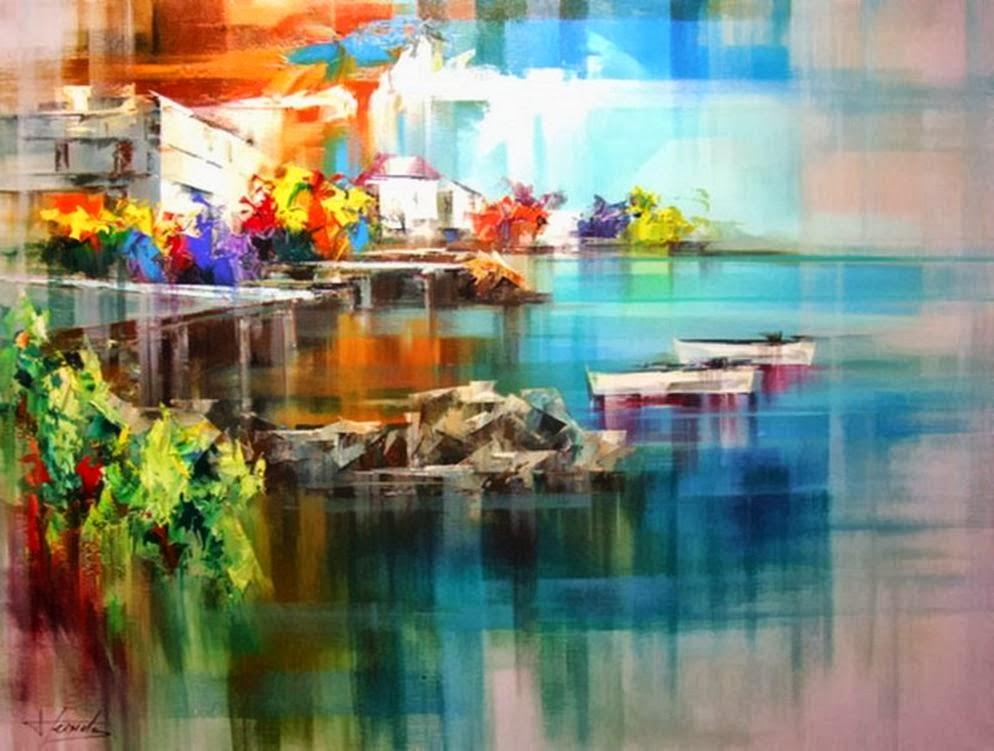 Pejzaži u slikarstvu... - Page 2 Landscape+Paintings+by+Josep+Teixido+%2811%29