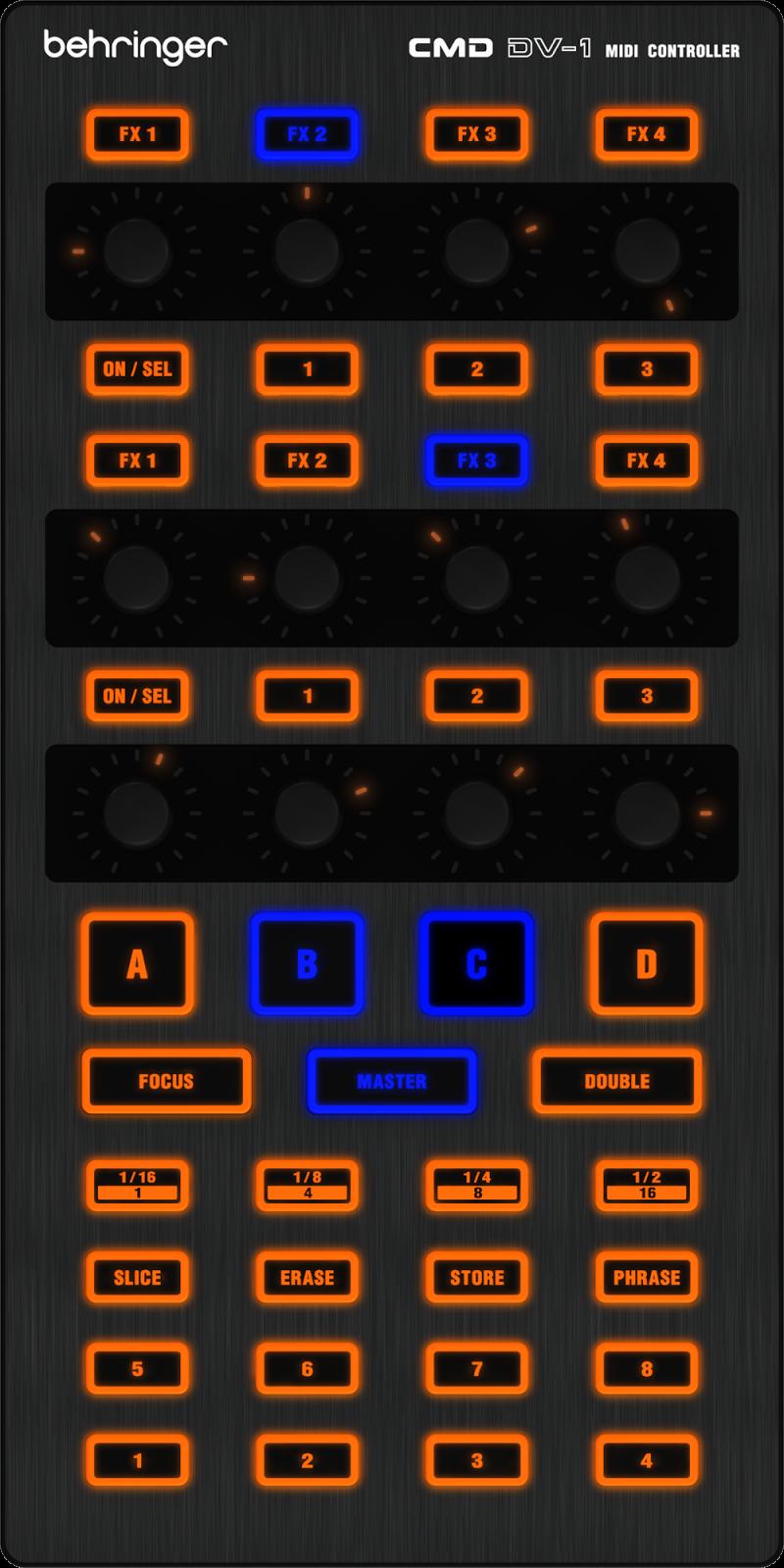 Controlador Behringer CMD DV-1