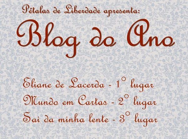 Blog do Ano, resultado