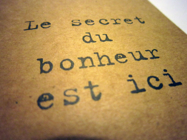 le secret du bonheur my little box