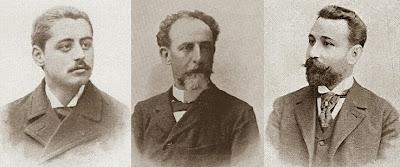 Valentín Marín i Llovet, Joan  Carbó i Batlle y Josep Maria Baquero i Vidal