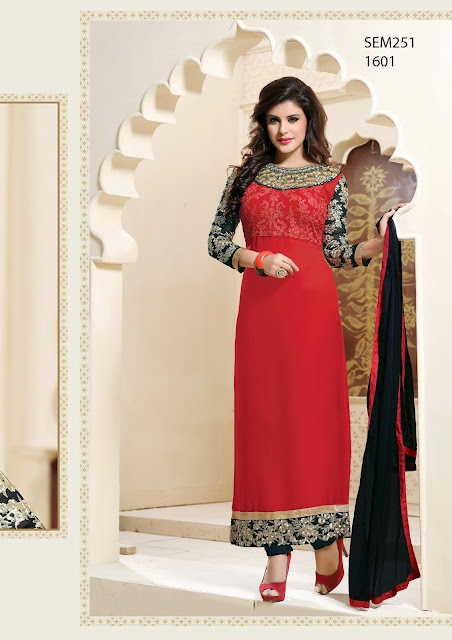 New Arrival Embroidered Long Pakistani style Dress