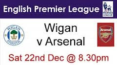Wigan vs Arsenal
