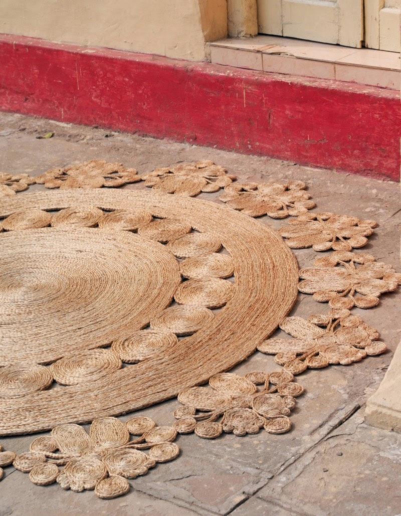 alfombras de cáñamo