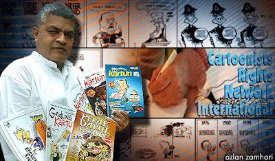 Gambar Koleksi Buku Kartunis Zunar Malaysiakini