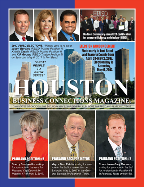 03 - EDITION OF HOUSTON BUSINESS CONNECTIONS MAGAZINE IS CURRENTLY UNDER CONSTRUCTION