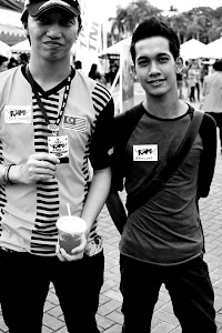 Izz Latif. I met him and he is so short. I thought he is tall. Haha. Thank you Izz.