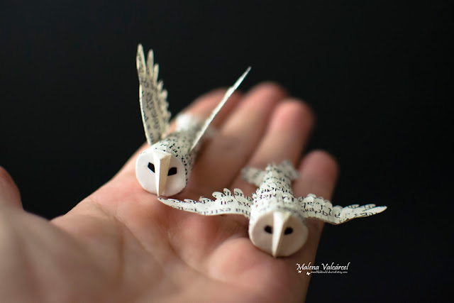 miniaturas-buhos-de-papel