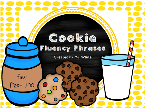 http://www.teacherspayteachers.com/Product/One-Smart-Cookie-Fluency-Phrases-for-the-First-100-Fry-Words-1044751