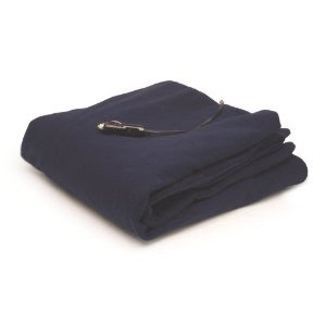 Polar Fleece Heated Travel Blanket