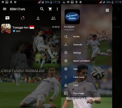 BBM MOD Tema Real Madrid Based Versi 2.12.0.9 Clone
