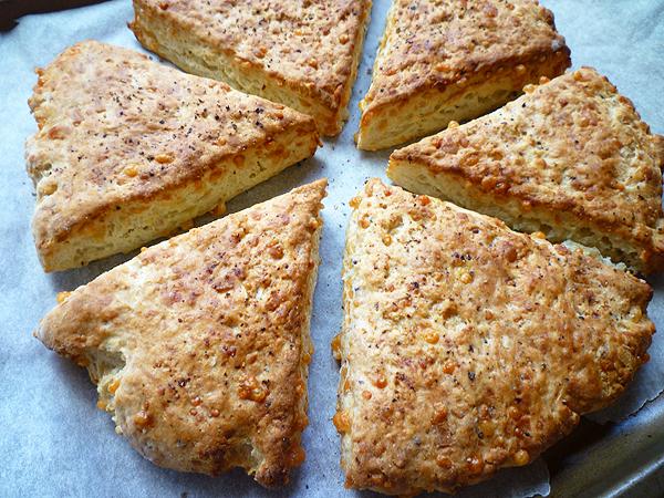 how to make cheese scones bero